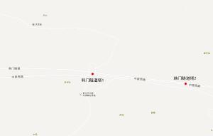巩义市中原西路韩门隧道广告塔01_1