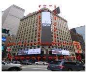 美国纽约时报广场49街7大道广告媒体