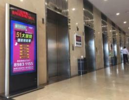 全长沙95%的高档写字楼电梯楼宇广告位