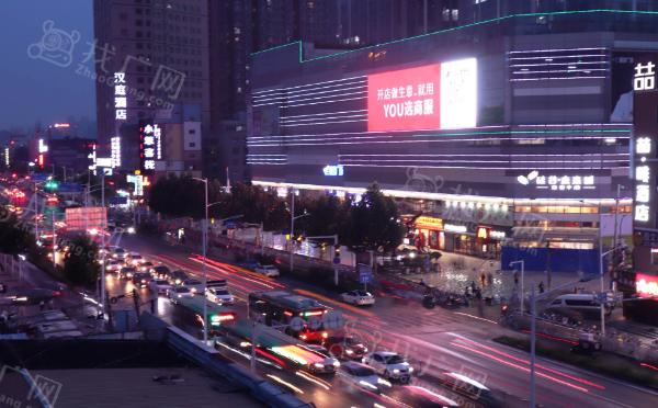 郑州硅谷商业广场LED显示屏