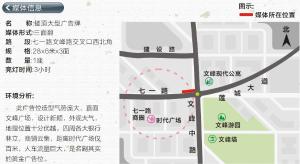 许昌市  七一路文峰路交叉口(时代广场商圈)  楼顶大牌_1