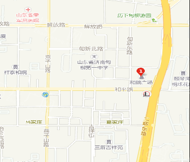 山东省济南市和瑞广场LED广告牌