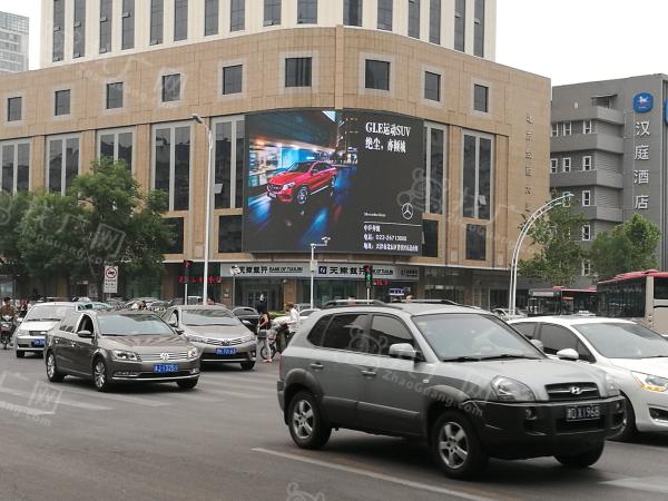 天津市河西区友谊路北方金融大厦LED