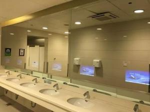 全国高铁火车站LED电子屏镜面广告一手媒体