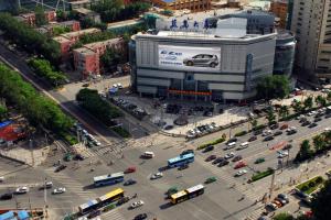 北京市朝阳区朝阳门外大街蓝岛大厦LED户外大屏
