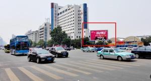 山东省济南市槐荫区经七路与经十路交叉口LED显示屏