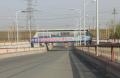 内蒙古呼和浩特市回民区金川金一道铁路桥户外广告牌