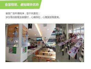 北京校园广告/营销/桌贴/框架/围栏/全媒体广告