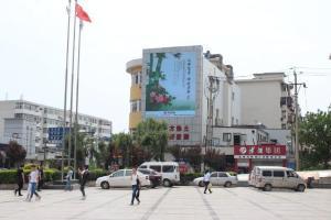 天津市河西区南京路与大沽南路交叉口户外LED显示屏