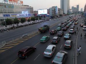 安徽省合肥市蜀山区国购广场户外LED显示屏