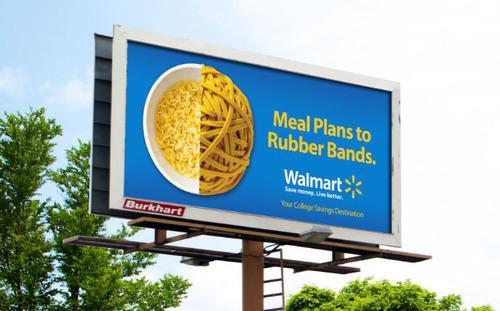 沃尔玛以线下广告挑战数字广告三巨头
