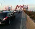 广东广州市海珠区新光大桥南/北岸观光电梯塔顶楼广告牌