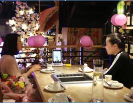 合肥市蜀山区望江西路主流餐饮品牌1800台显示屏广告