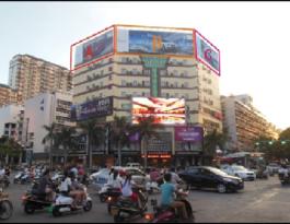 广东汕头市金平区长平路与金环路交界处欣荣大厦楼顶广告