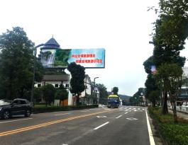 贵州安顺黄果树旅游区户外立柱大牌