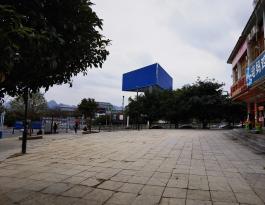 贵州安顺黄果树旅游区户外三面翻广告牌