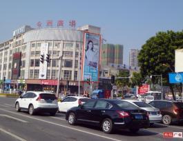 广州市南沙区进港大道今洲广场顶层B广告牌