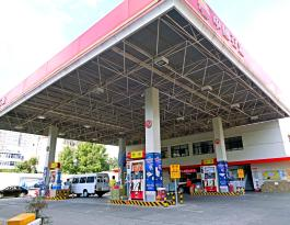 陕西省西安咸阳市区所有中石油加油站包柱广告