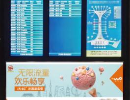 天津市东丽区滨海国际机场航显牌广告媒体