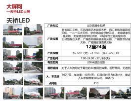 云南昆明市全市12座24面天桥LED大屏联播