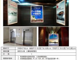 江苏省扬州市各大小区商务楼电梯轿厢广告位