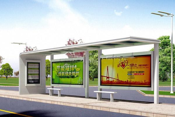 户外港湾式公交站台候车亭尺寸及设计注意事项