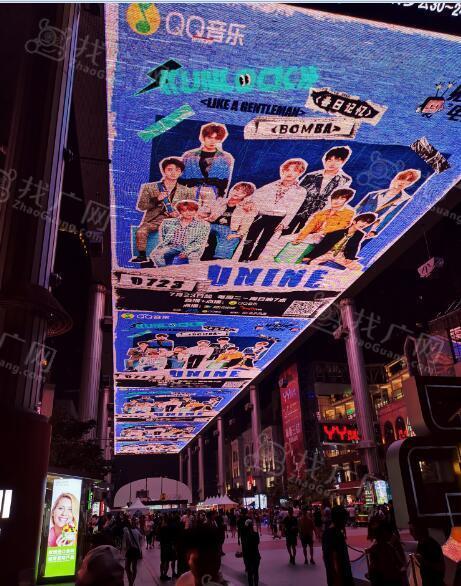 北京世贸天阶LED大屏天幕及场地租赁广告特惠!
