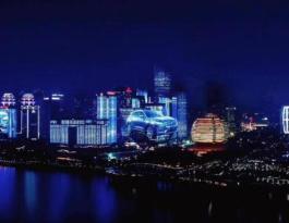 重庆市解放碑户外LED屏广告位