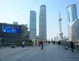 上海浦东新区世纪大道金茂大厦裙房东墙写字楼LED屏