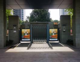 湖北武汉武昌区和平大道515号(进出口)绿地西斯莱公馆高端住宅门禁