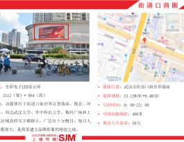 武汉洪山区街道口商圈户外LED广告