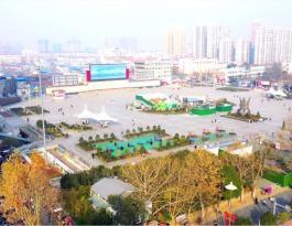 河南省周口市五一广场400㎡高清LED大屏