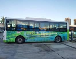 海南万宁海南省万宁市公交车车身广告