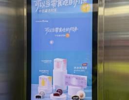 湖北武汉融科天城小区电梯等候厅公寓电梯广告