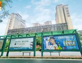 广东湛江湛江全市公交车站灯箱广告