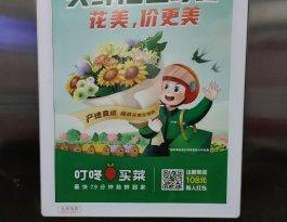 江苏常州雅居乐小区新北区龙锦路与泰山路交叉路口写字楼电梯广告