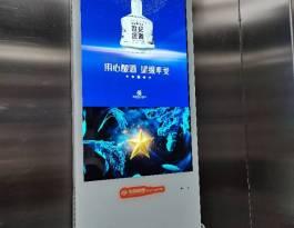 甘肃兰州七里河区西站西路46号海鸿广场写字楼电梯广告