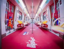 山东济南1号线地铁媒体地铁灯箱广告
