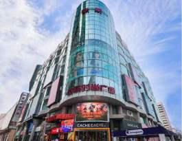 天津和平区欧乐时尚广场入口处电影院LED屏