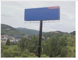 湖南张家界常张高速公路慈利服务区50米处高速公路户外大牌