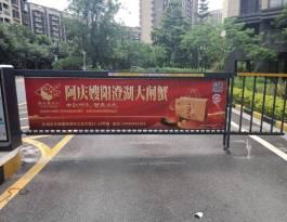 广东东莞丽景路1号岗金海怡景花园高端住宅道闸