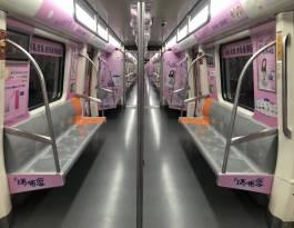 河南郑州郑州市地铁轻轨车身