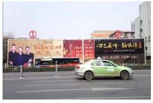 安徽省合肥市南一环与宣城路交口合肥工业大学对面广告位