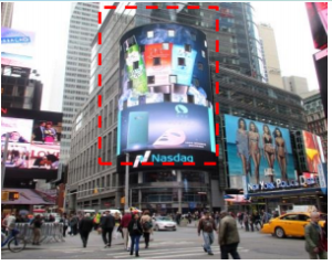 美国纽约时报广场 43街百老汇广告媒体