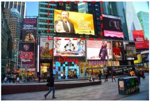 美国纽约时报广场1540 Broadway广告媒体