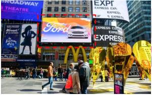 美国纽约时报广场46-47街7大道广告媒体